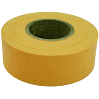 TAPE FLAG YEL 1-3/16INX300FT
