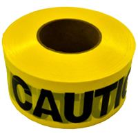 TAPE CAUTION 1.5MIL 3INX1000FT