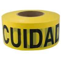 TAPE CAUT/CUID 2MIL 3INX1000FT