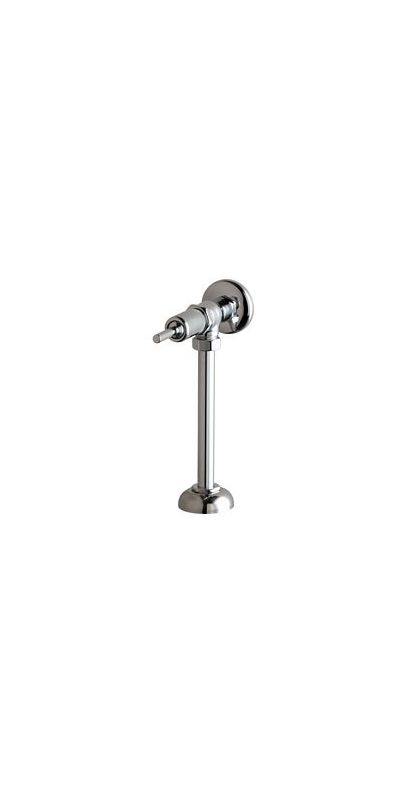 Angle Urinal Flush Valve Chrome 1 Gallons Per Flush