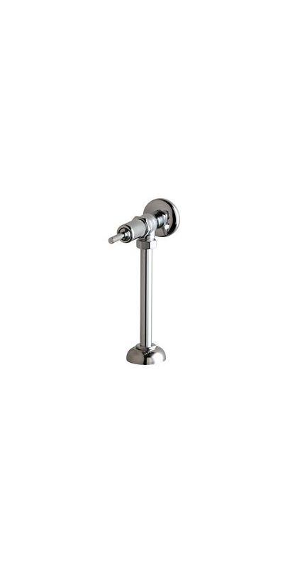 Angle Urinal Flush Valve Chrome 1 Gallons Per Flush