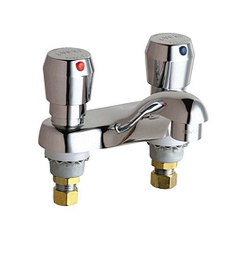 California Energy Commission Registered Lead Law Compliant 2 Handle 2 Hole Lavatory Fitting Deck Mount Chrome 0.25