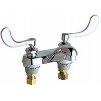 California Energy Commission Registered Lead Law Compliant 2 Handle Wristblade Handle Lavatory Faucet Chrome 0.5
