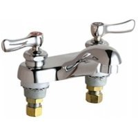 California Energy Commission Registered Lead Law Compliant 2 Handle Lever Lavatory Faucet Chrome 0.5 Gallons Per Minute