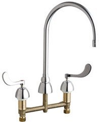 California Energy Commission Registered Lead Law Compliant 2 Handle Concealed Hot & Cold Kitchen Faucet 1.5