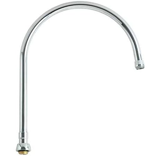 Lead Law Compliant Gooseneck Swing Spout A Type End Polished Chrome