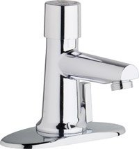 California Energy Commission Registered Lead Law Compliant Hot & Cold METERING Lavatory Faucet 0.5 Gallons Per Minute