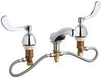 California Energy Commission Not Registered Lead Law Compliant 2 Handle Three Hole Lavatory Faucet Chrome 2.2 Gallons Per Minute