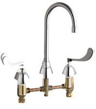 California Energy Commission Registered Lead Law Compliant 2 Handle Wristblade Handle Concealed Faucet Chrome 1.5