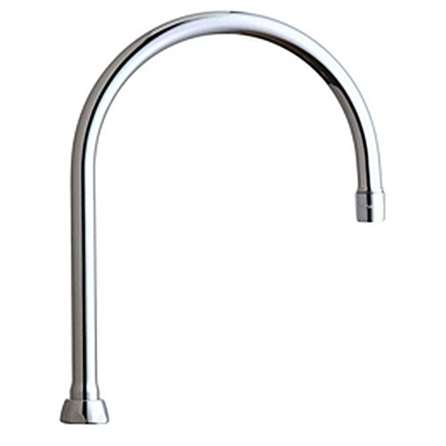 California Energy Commission Not Registered Lead Law Compliant 8 Gooseneck Spout With E3 Aerator Polished Chrome 2.2