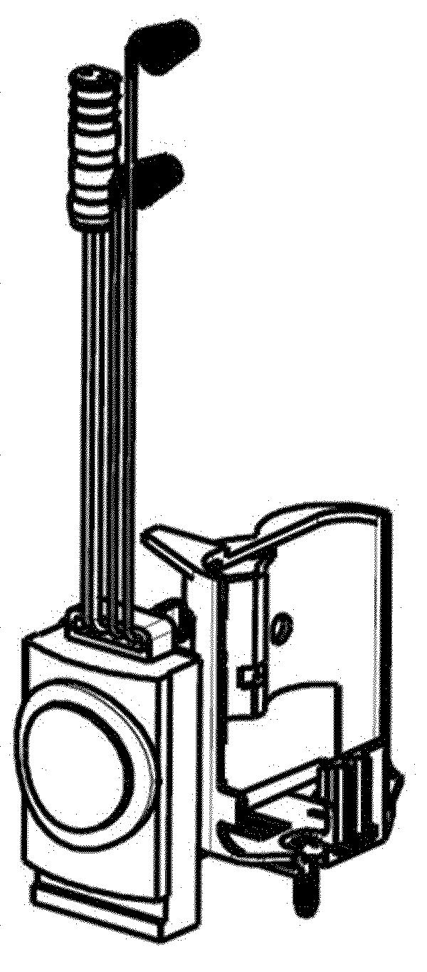 Antique Brass Hytronic Battery Holder Kit