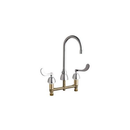 California Energy Commission Registered Lead Law Compliant Concrete Hot & Cold Water SINK Gooseneck Polished Chrome 0.5