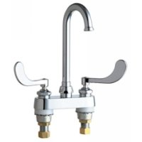 California Energy Commission Registered Lead Law Compliant 2 Handle Wristblade Handle Kitchen Faucet Chrome 1.5