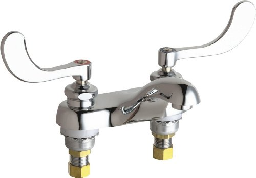 California Energy Commission Not Registered Lead Law Compliant 2 Handle Lever Lavatory Faucet Chrome 2.2 Gallons Per Minute