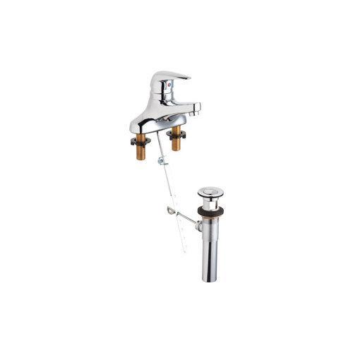 California Energy Commission Registered Lead Law Compliant 4 Centerset Single Lever Lavatory Faucet 1.5 Gallons Per Minute