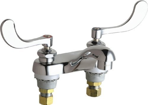 California Energy Commission Not Registered Lead Law Compliant 2 Handle Wristblade Handle Lavatory Faucet Chrome 2.2