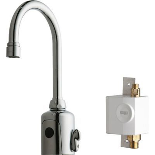 California Energy Commission Not Registered Lead Law Compliant 1.5 Gallons Per Minute 10 Gooseneck Sensor Faucet Chrome