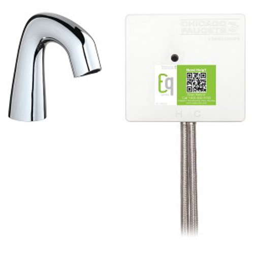 California Energy Commission Registered Lead Law Compliant 0.5 Gallons Per Minute Infrared Detector Lavatory Faucet