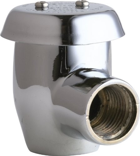 CHICAGO FAUCET ANGLE VACUUM BREAKER 1/2 IN., LEAD FREE