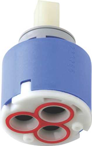 CHICAGO FAUCET CERAMIC VOLUME CONTROL AND HOT WATER LIMIT STOP CARTRIDGE, LEAD FREE