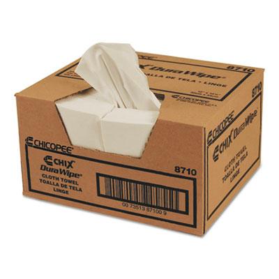 DuraWipe General Purpose Towels, 12 x 13 1/2, White, 400/Carton