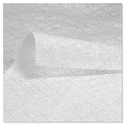 Durawipe Heavy-Duty Industrial Wipers, 8.8 x 17, White, 70/Box, 6 Bx/CT