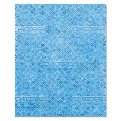 Durawipe Heavy-Duty Industrial Wipers, 13.1 x 12.6, Blue, 500/Roll