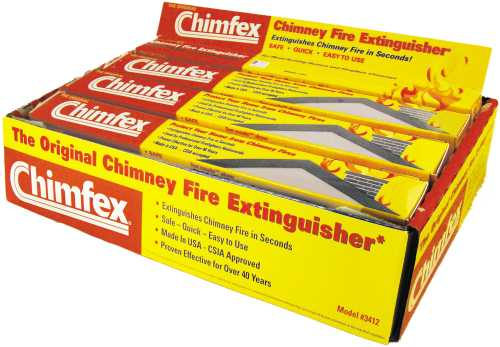 CHIMFEX CHIMNEY FIRE EXTINGUISHER, 8 PACK