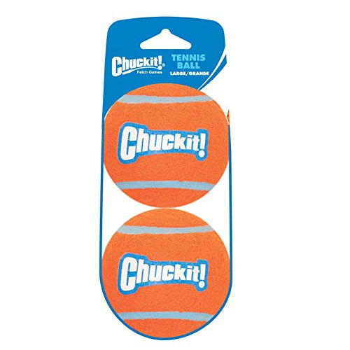 Chuckit! Tennis Ball, Large, 2 Pack