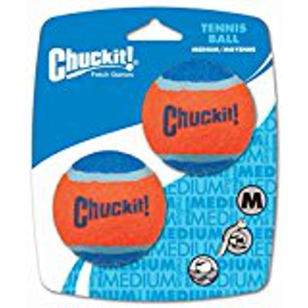 Chuckit! Tennis Balls, Medium, 2 Pack