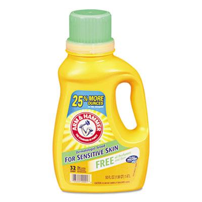 HE Compatible Liquid Detergent, Unscented, 50 oz Bottle