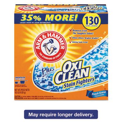 Power of OxiClean Powder Detergent, Fresh, 9.92lb Box, 3/Carton