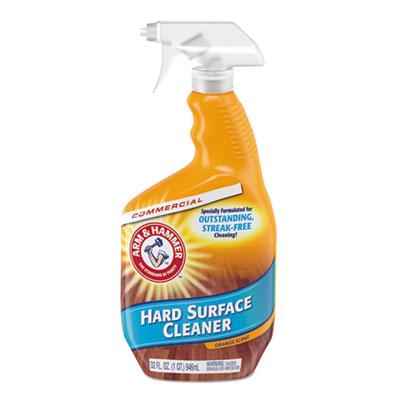 Hard Surface Cleaner, Orange Scent, 32 oz Trigger Spray Bottle