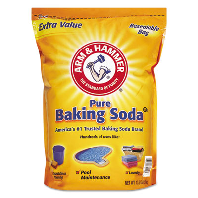 Baking Soda, 13-1/2 lb Bag, Original Scent