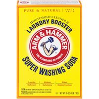 Arm & Hammer 03020 All Natural Super Washing Soda, 55 oz, Box