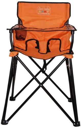 Ciao! Baby Portable High Chair, Orange