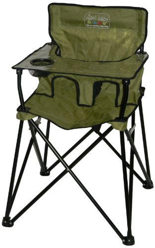 Ciao! Baby Portable High Chair, Sage