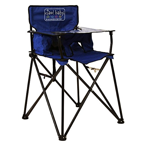 Ciao! Baby Portable High Chair, Blue