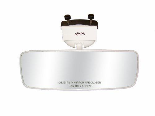 "COMP II 4"" x 11"" Marine Mirror (White)"