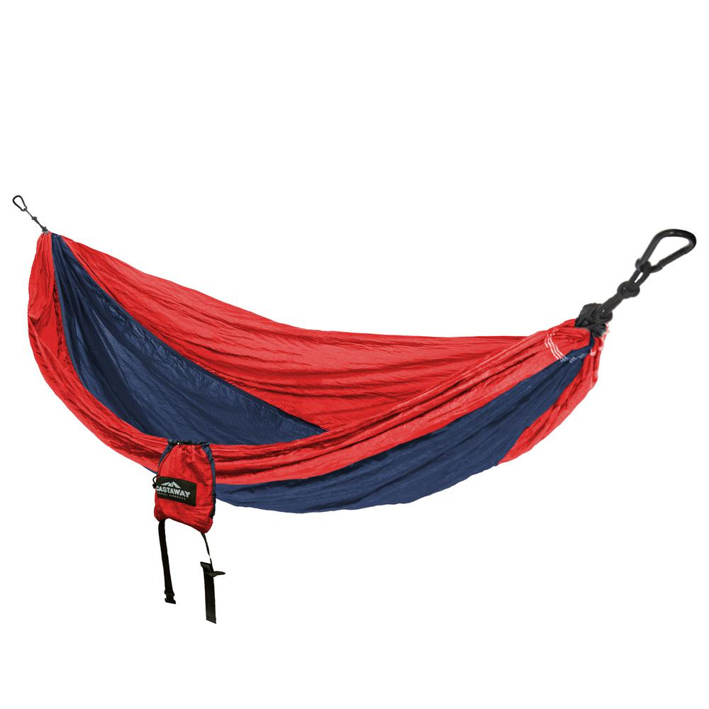 HAMMOCK CAMPING RED/NAVY