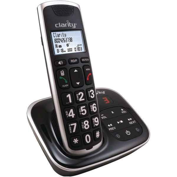 CLARITY 59914.001 Amplified Bluetooth Cordless Phone with Answering Machine