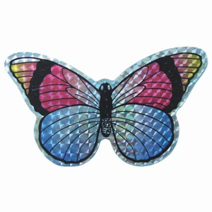 Small Multi Colored Butterfly Door Screen Saver