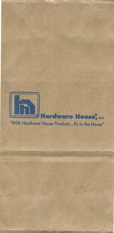 4# HARDWARE HOUSE NAIL BAG