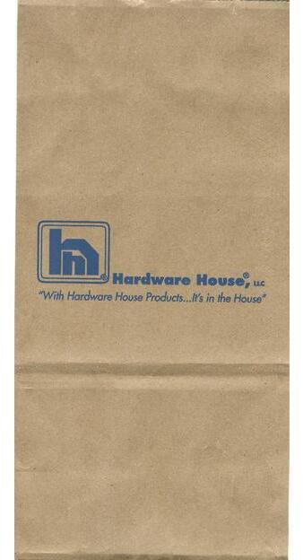 #4 HARDWARE HOUSE NAIL BAG