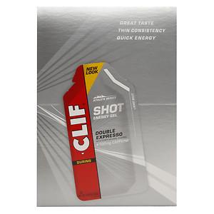 Clif Shot, 24 Count Box, Expresso Gel W/ Caf