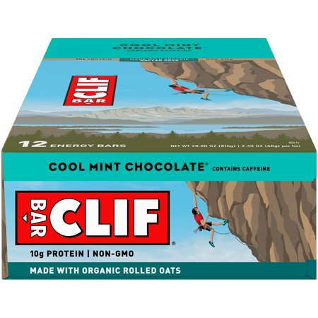 Clif Bar, 12 Count Box, Cool Mint Chocolate