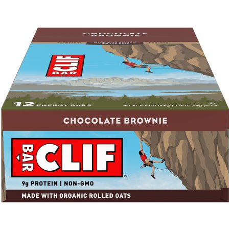 Clif Bar, 12 Count Box, Chocolate Brownie