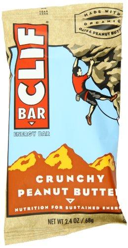 Clif Bar, 12 Count Box, Crunchy Peanut Butte