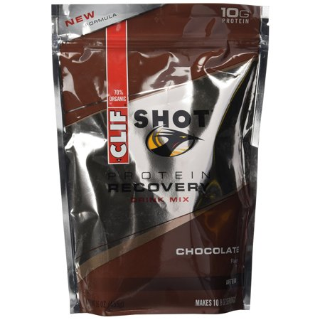 Clif Recovery Protein Drink Pouch, Chocolate