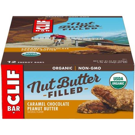 Clif Nut Butter Bars, 12 Pack, Caramel Choc